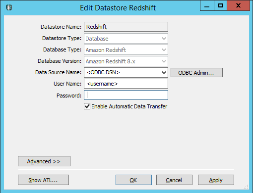 Redshift with SAP Data Services – Business Intelligence Tech